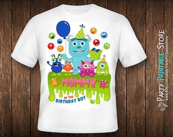 Birthday Mom Shirt, Monsters Inc Birthday Shirt, Monsters Inc Party Shirt, Iron On Monster, Monster Iron On, Monster Birthday Shirt Family