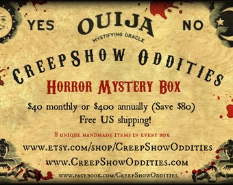 Horror Mystery Box