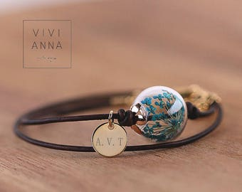 """Zest for life """"personalized Leather bracelet · Personalized Gifts · A139d"""