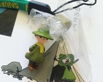 Kawaii Snufkin mobile strap from Japan