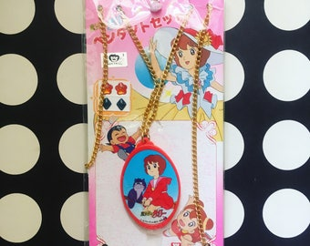 Kawaii vintage Sally The Witch, a magical girl anime coin from Japan