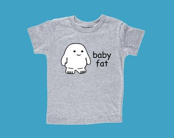 Doctor Who Tshirt, Adipose Shirt, Dr Who Toddler Shirt, Baby Fat
