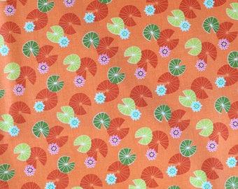 Fabric - Michael Miller - Lily pond garden - medium weight woven cotton fabric.
