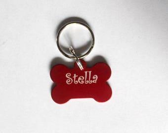 Engraved Pet Tag, Dog Tag, Personalized Dog Tags, Pet ID Tag, Dog Name Tag, Pet Tag, Custom Dog Collar Tag, Aluminum ID Tag, Dog Collar Tag