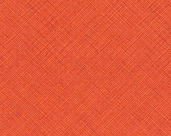 Architextures - Crosshatch Orangeade - Carolyn Friedlander - Robert Kaufman (AFR-13503-380)