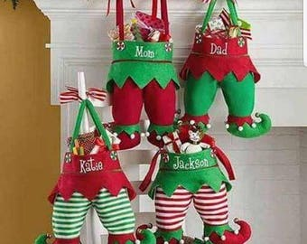 Elf Christmas Stockings