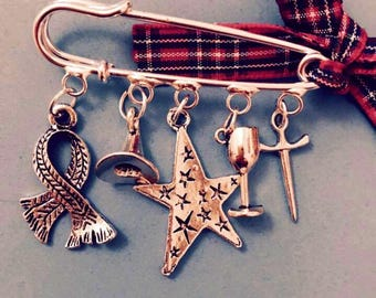Magical Harry Potter Brooch Pin Mad March SALE!