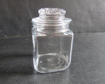 Vintag Apothecary Small Clear Jar