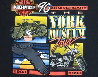 1993 Harley Davidson tee