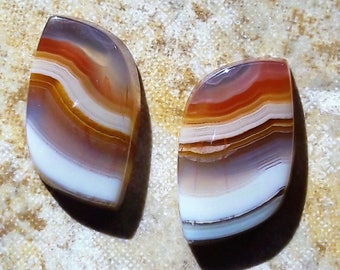 Agua Nueva 19x11mm (set of two)