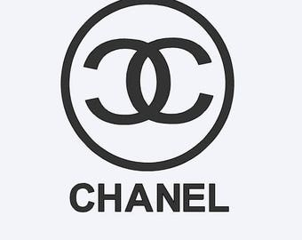 Chanel, Chanel Decal, Car Decal, iPad Chanel Decal, Yeti Cup Decal