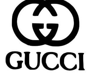 Gucci, Gucci Decal, Car Decal, iPad Gucci Decal, Yeti Cup Decal