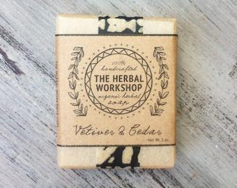 Vetiver & Cedar - Organic Soap