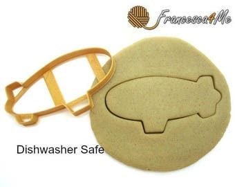 Blimp/Zeppelin Cookie Cutter/Dishwasher Safe