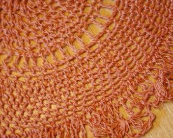 Crochet Table Doilies Set of 3