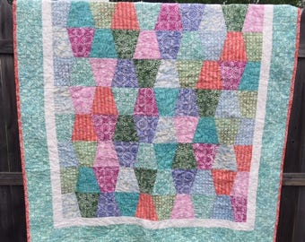 Quilt with Latitude Batiks collection from Kate Spain