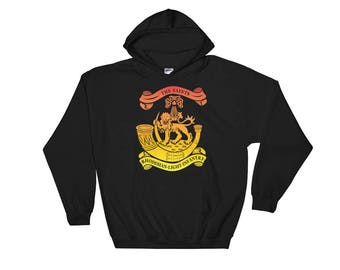 Rhodesian Light Infantry Hooded Sweatshirt Gold