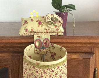 Thread Catcher, Pincushion, Sewing Caddy, Sewing Accessory