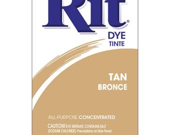 Powder Rit Dye - Tan All Purpose Concetrated