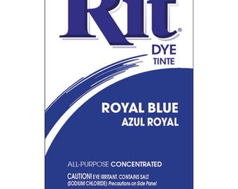 Powder Rit Dye - Royal Blue All Purpose Concetrated
