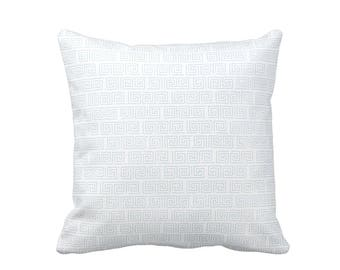 Decorative Pillows for Sofa Pillows Decorative Throw Pillow Cover Blue Throw Pillows Toss Pillows Accent Pillows Greek Key Pillows Cushions