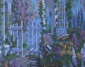 Needlepoint tapestry kit, GARDEN, 30 x 40 cm, TK117