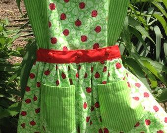 Ladybug playset-shorts and skirt ensemble 3T