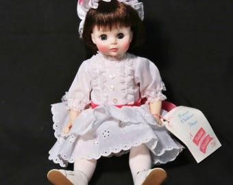 "Vintage 13"" Madame Alexander ""Degas Girl"" Doll with Tag and Box 1575"