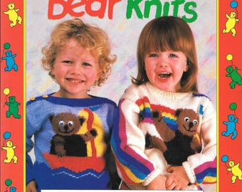 Teddy Bear Knits - 16 original sweaters and stories for children aged 2-9 by Mo Smith