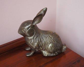 Vintage Brass Rabbit.