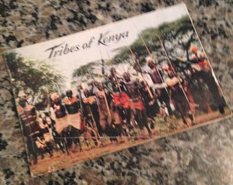 Tribes of Kenya Paperback Pamphlet with Photographs by Alastair Matheson