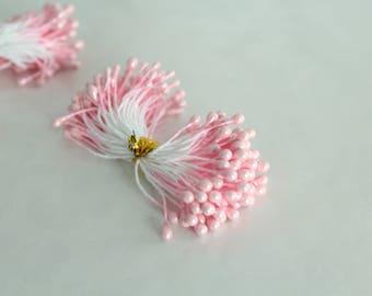 Pink Artificial Flower Stamen  STMLC-0304