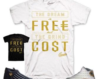 Jordan DMP 13 & 14  Cost Shirt