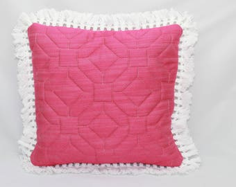 Pink quilted fun