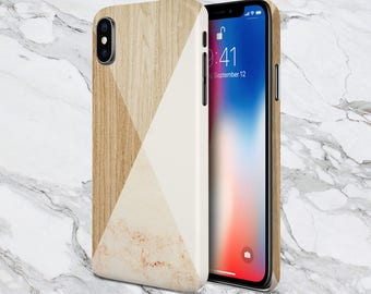 White Marble x Wood Case for iPhone 8 6 Plus iPhone X  Samsung Galaxy s8 edge s6 and Note 8  S8 Plus Phone Case, Google Pixel 2