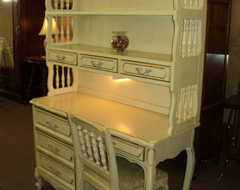 White French Provincial Bedroom Set by Henry Link