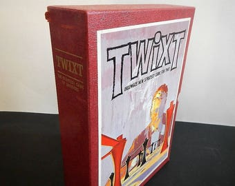 Vintage Twixt Board Game - Ingenious New Strategy Game For Two - 1962 - 3M game, complete, game night, family game, 2 players