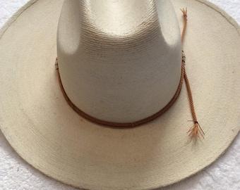 Fidepal Straw Cowboy Hat
