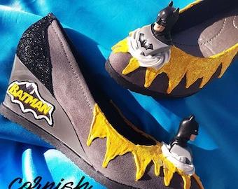 Bespoke Batman Wedges Made to Order