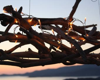 "Suspension ""Fixture Stella Notte"" Driftwood sold"