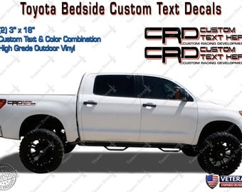 Tundra Sticker Etsy - Custom tundra truck decals