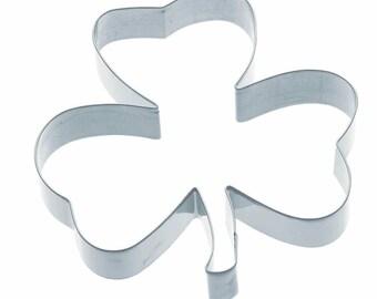 Cookie biscuit 13 cm - Irish clover metal