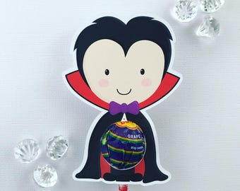 Vampire lollipop holders