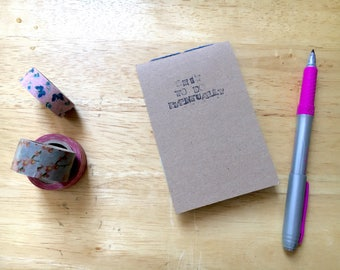 Shit To Do Eventually, small adult humour notebook