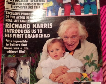 Rare vintage hello magazine 1991. Issue 149.