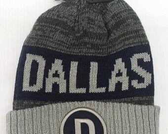 Dallas Winter Pom Pom Beanies/ Dallas Winter Caps/ Dallas Beanies/ Football Fans Caps