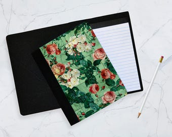 Floral marble Notebook