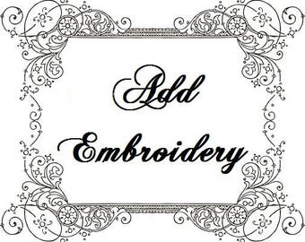 Add Embroidery