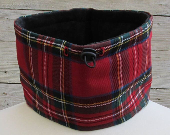 Pure Wool Royal Stewart Tartan Plaid Neck Warmer