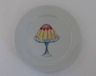 Petite assiette, porte sachet de thé, porte-monnaie, porte-savon, plat de bijoux, plat de bonbons et petits gâteaux